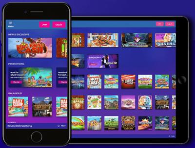 gala bingo mobile app screenshots