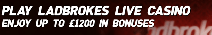ladbrokes live casino bonus