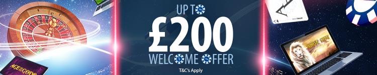 Standard £200 offer