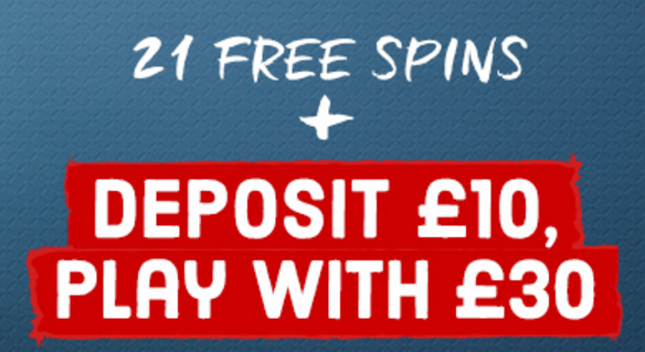 Virgin Games 21 free spins
