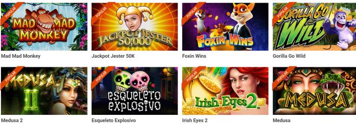 luckia slots juegos