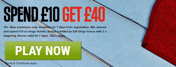 ladbrokes bingo offer