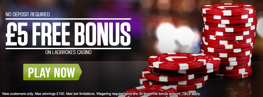 ladbrokes casino 5 free