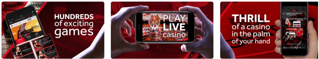Genting Bet Promo Code: Mobile App